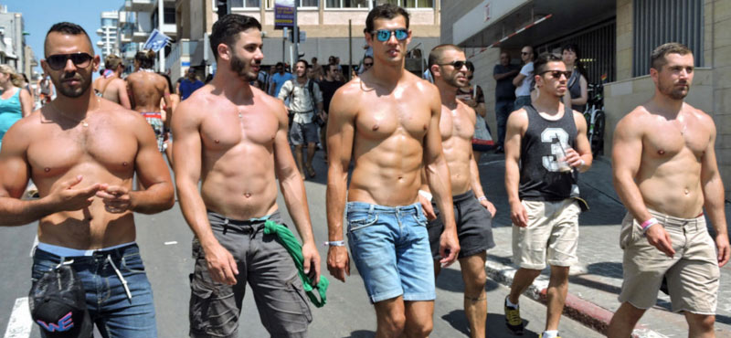 Hot gay guys Tel Aviv